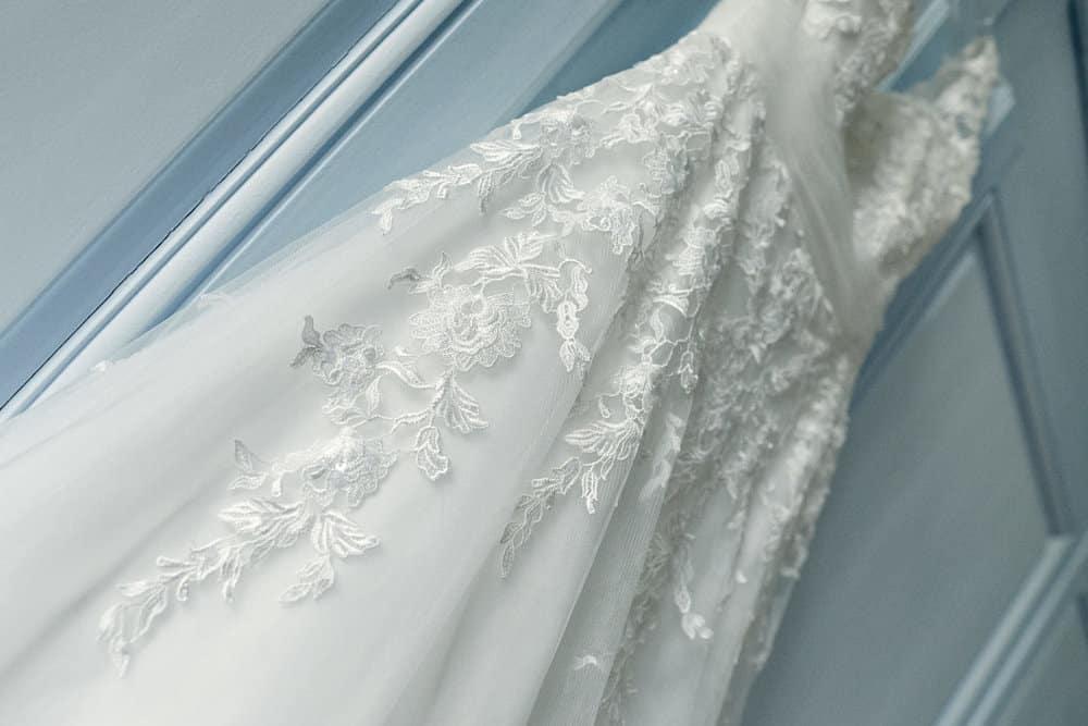 Robe de mariage de la mariée