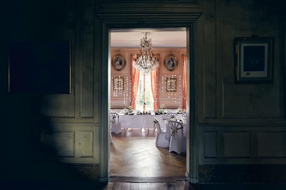 Détail de décoration dans le Château de Salvanet