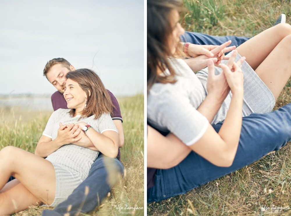 détail photo de couple - photographe la rochelle ile de ré