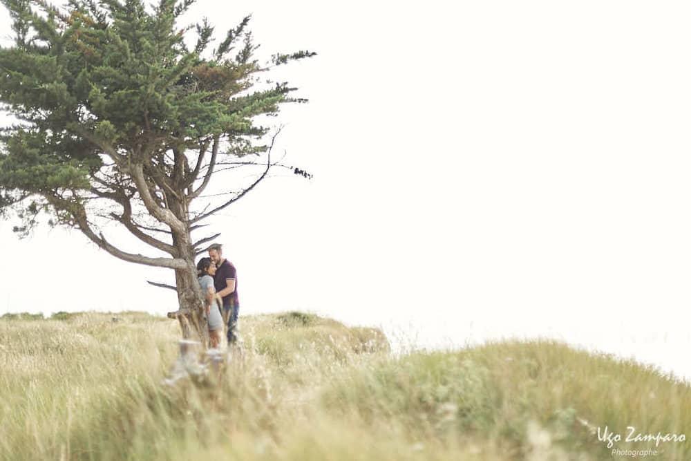 Isolement de couple - photographe la rochelle ile de ré