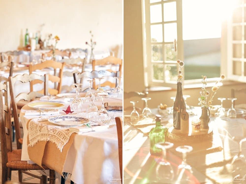 Détail de repas au Chateau Saint-Georges